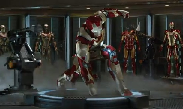 Comic book movies - iron man 3
