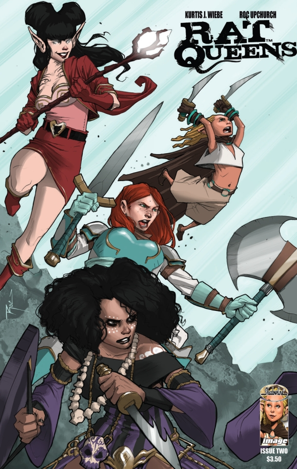 Rat Queens issue 2