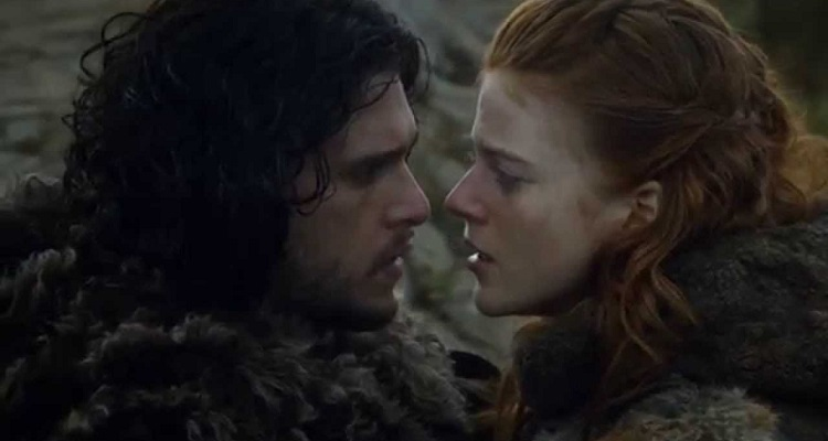 5 raunchiest moments in 'game of thrones' so far