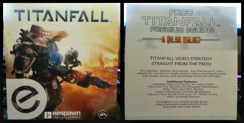 Loot crate 2014 titanfall eguide