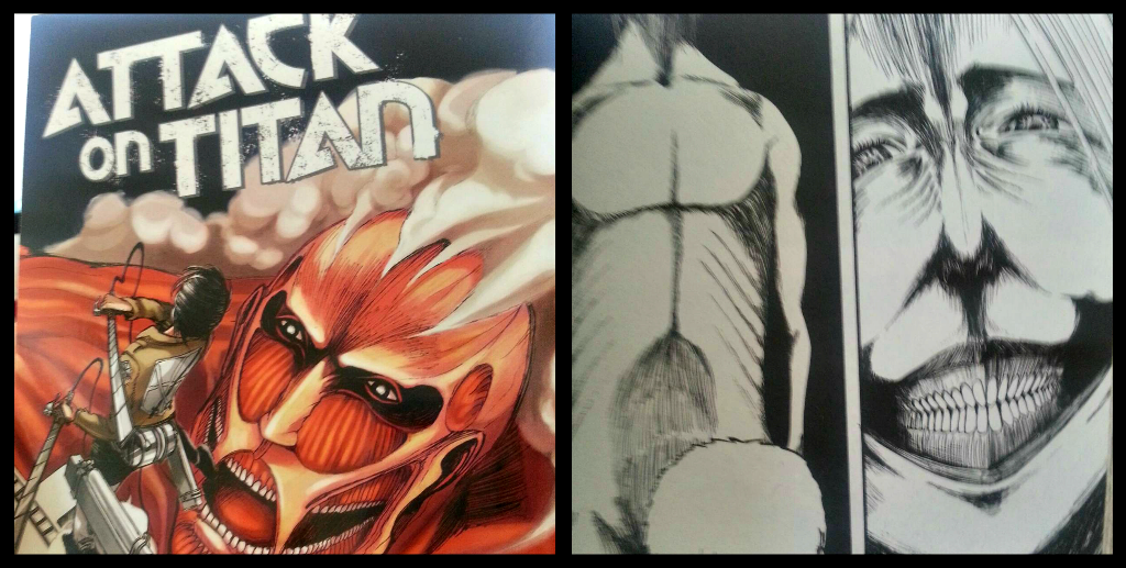 Loot crate march 2014 attack on titan manga #1