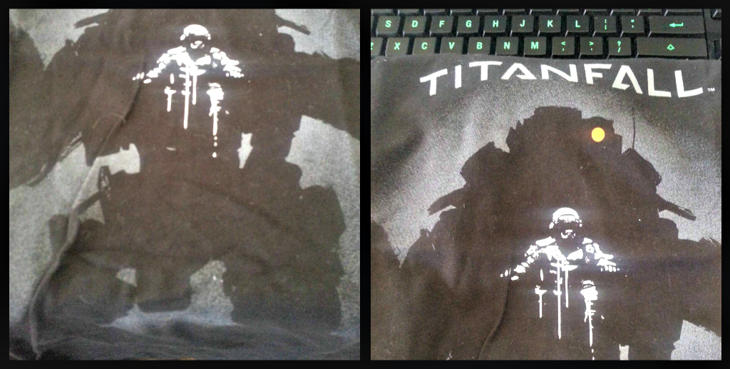 Loot crate titanfall tshirt exclusive