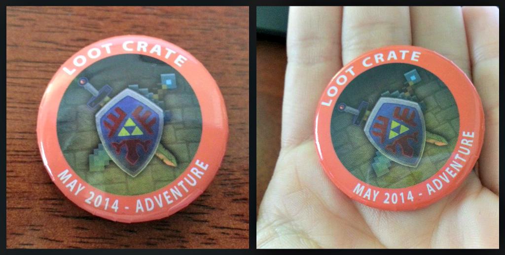Loot crate adventure theme badge