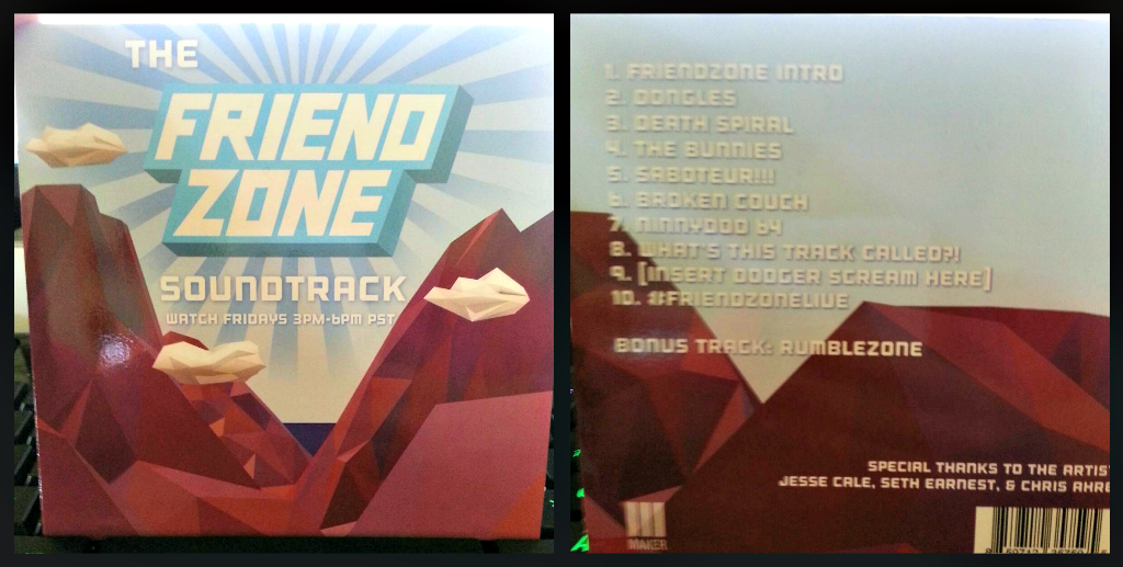Friend zone soundtrack loot crate