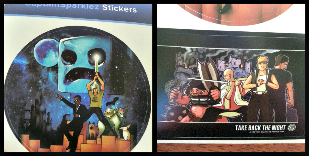 Captain sparklez loot crate may 2014