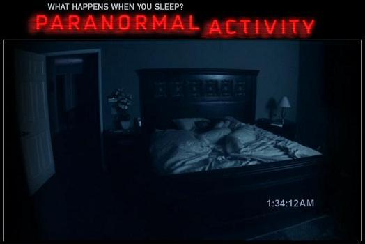 Paranormal activity, halloween movies