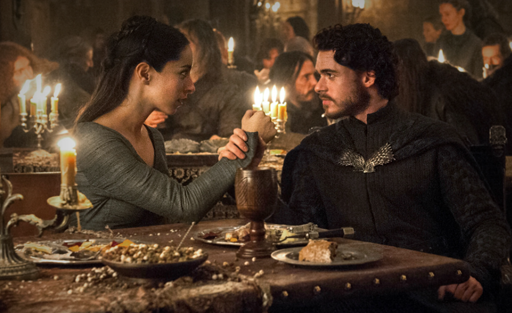 The red wedding death scene in 'game of thrones'