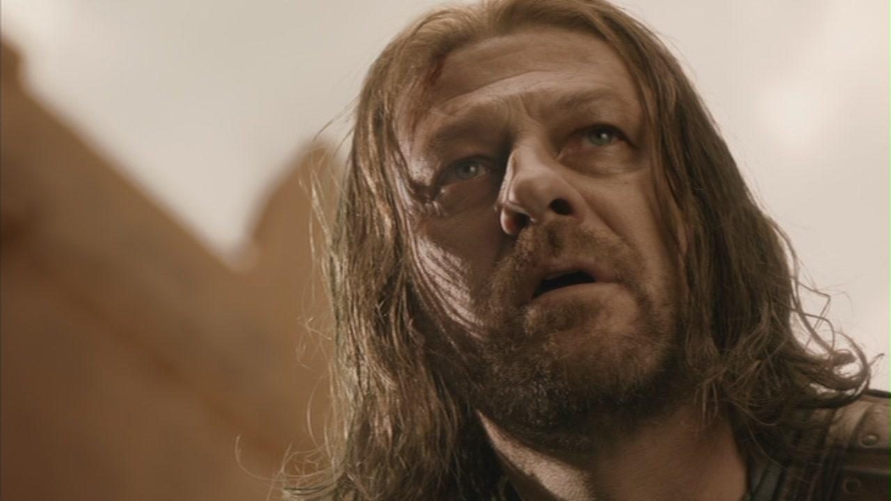Ned stark death scene in 'game of thrones'