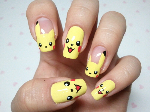 Geeky Nail Designs The Weird The Cute And The Impractical Geek
