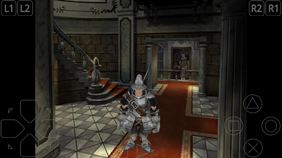 Final Fantasy IX on ePSXe for Android mobile.