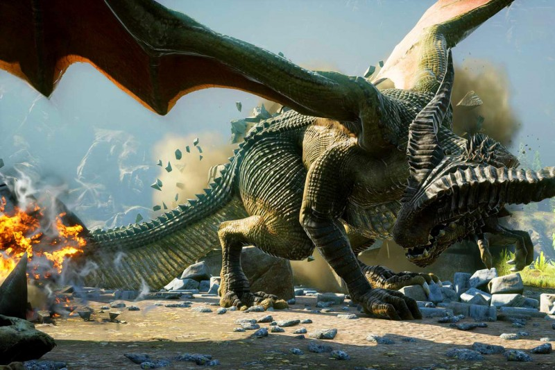 'dragon age: inquisition' review, dragon tails