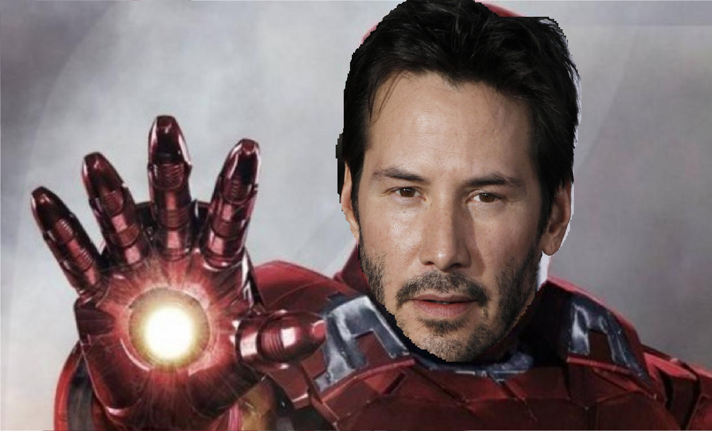 Marvel movies: iron man could have been keanu reeves