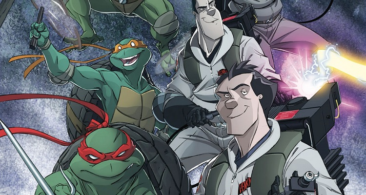 Ghostbusters/tmnt comic crossover