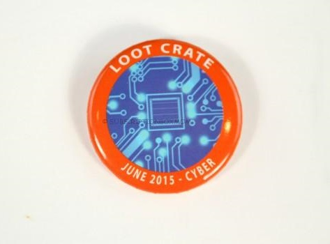 Loot crate cyber pin