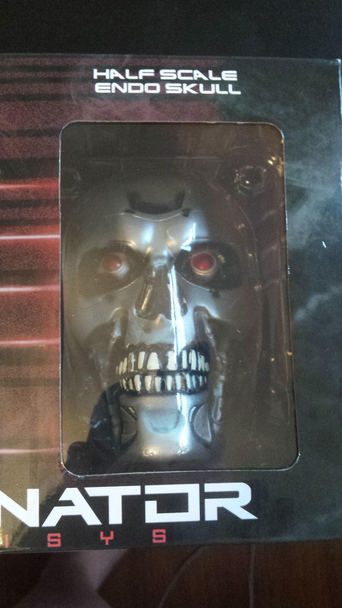 Half scale endo skull terminator genisys
