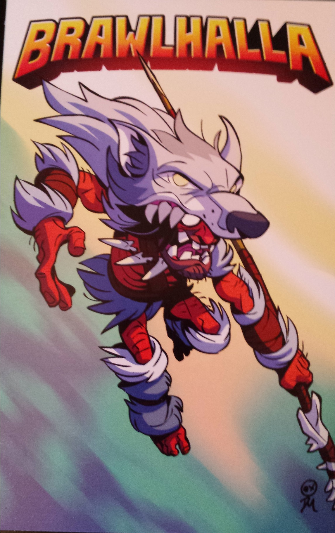 Brawlhalla! July loot crate is super!