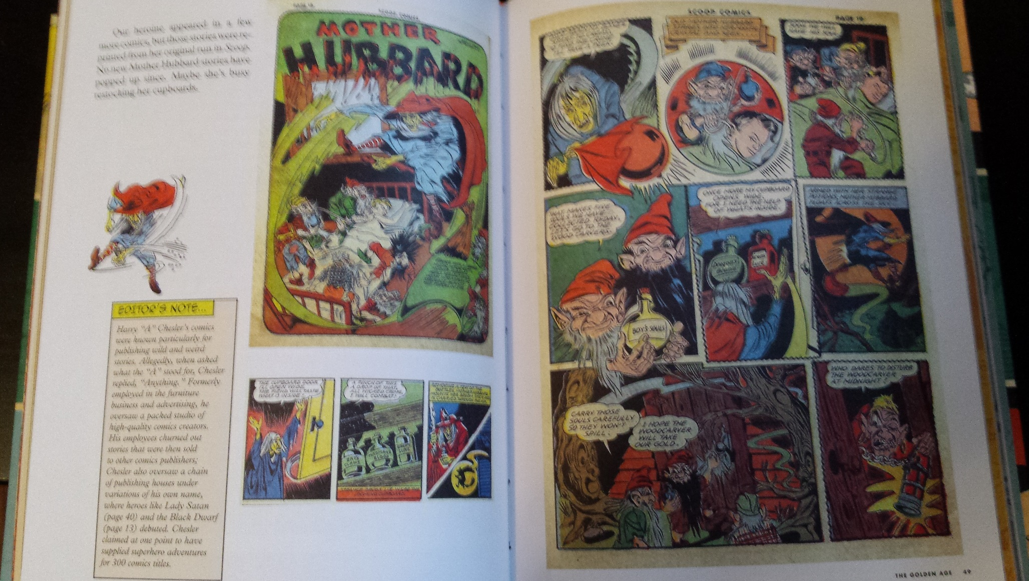 Mother hubbard from the league of regrettable superheroes