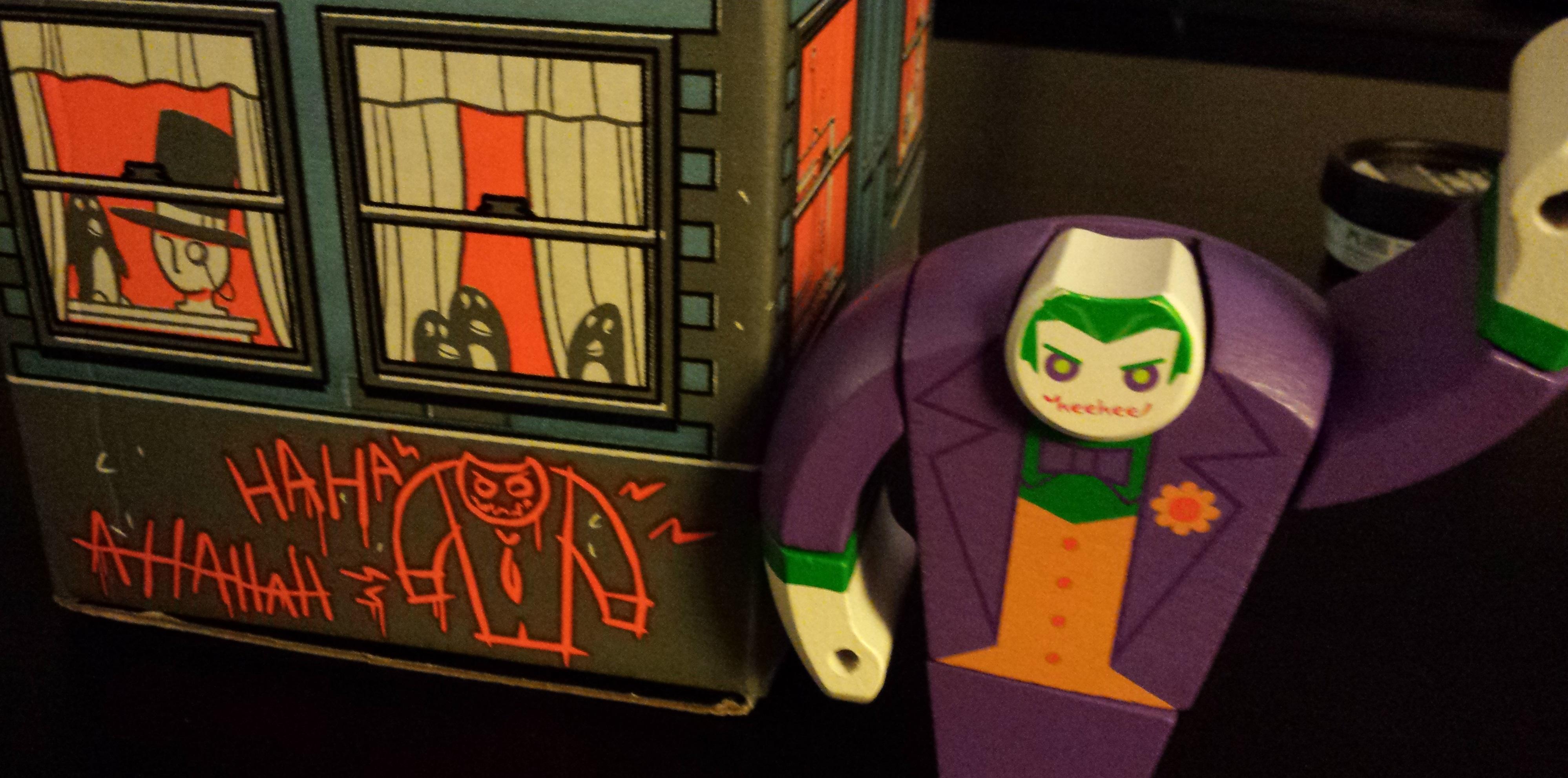 August's loot crate, joker toy