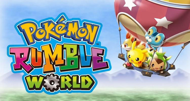 Pokémon releases new games, free-to-play,pokemon rumble world