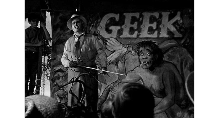 "Geek, sideshow, circus, freaks, the history of the word ""geek"""