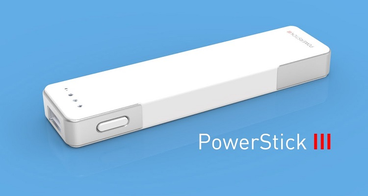 Powerstick iii, portable chargers
