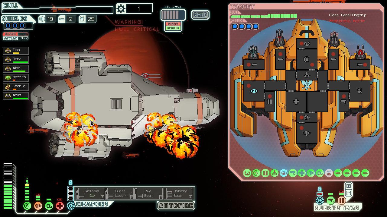 Rebel flagship, ftl, hardest video game bosses
