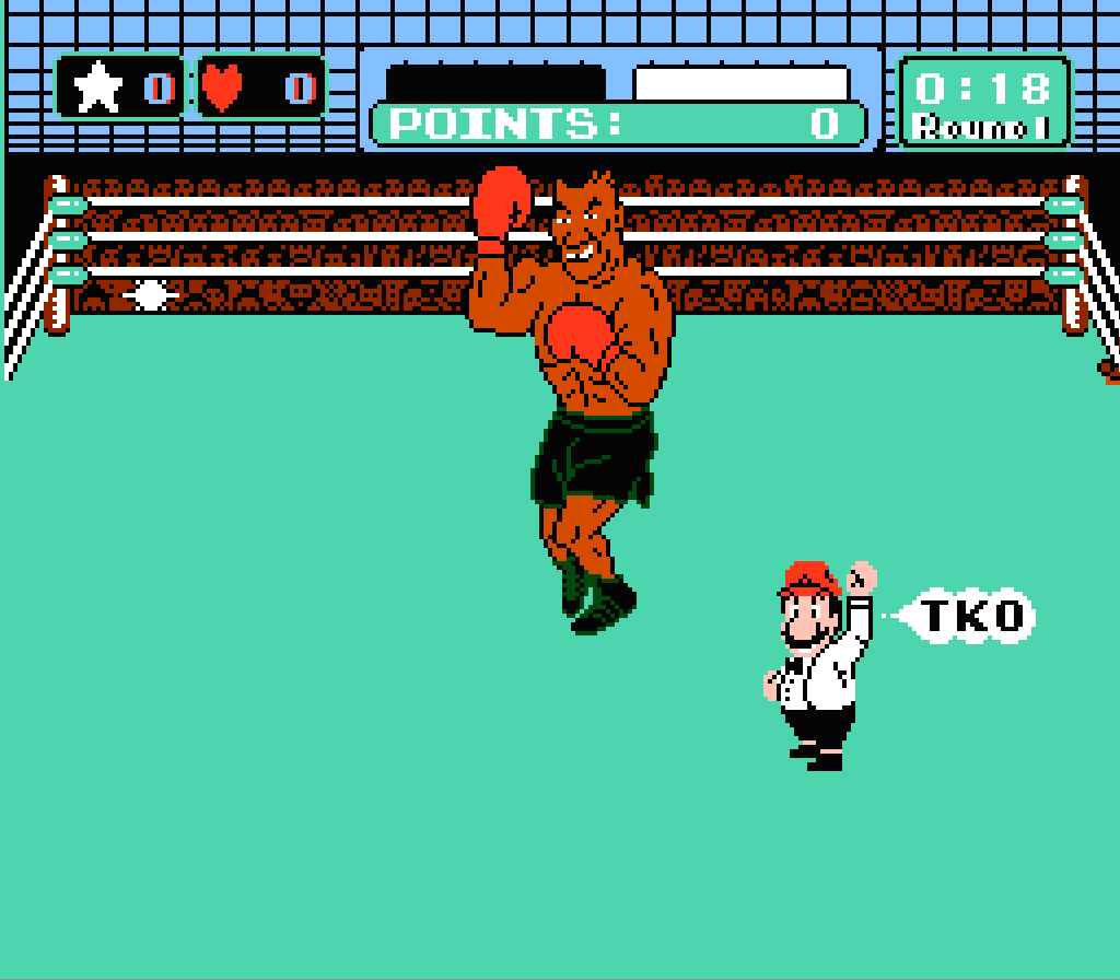 Mike tyson's punch out, hardest video game bosses
