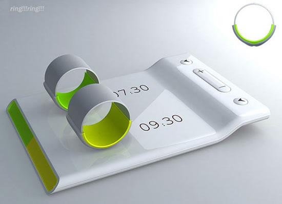Fandi meng, dual silent alarm clock, gadgets for couples