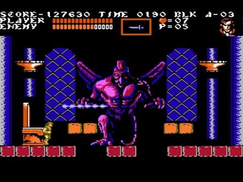Dracula, castlevania iii, hardest video game bosses