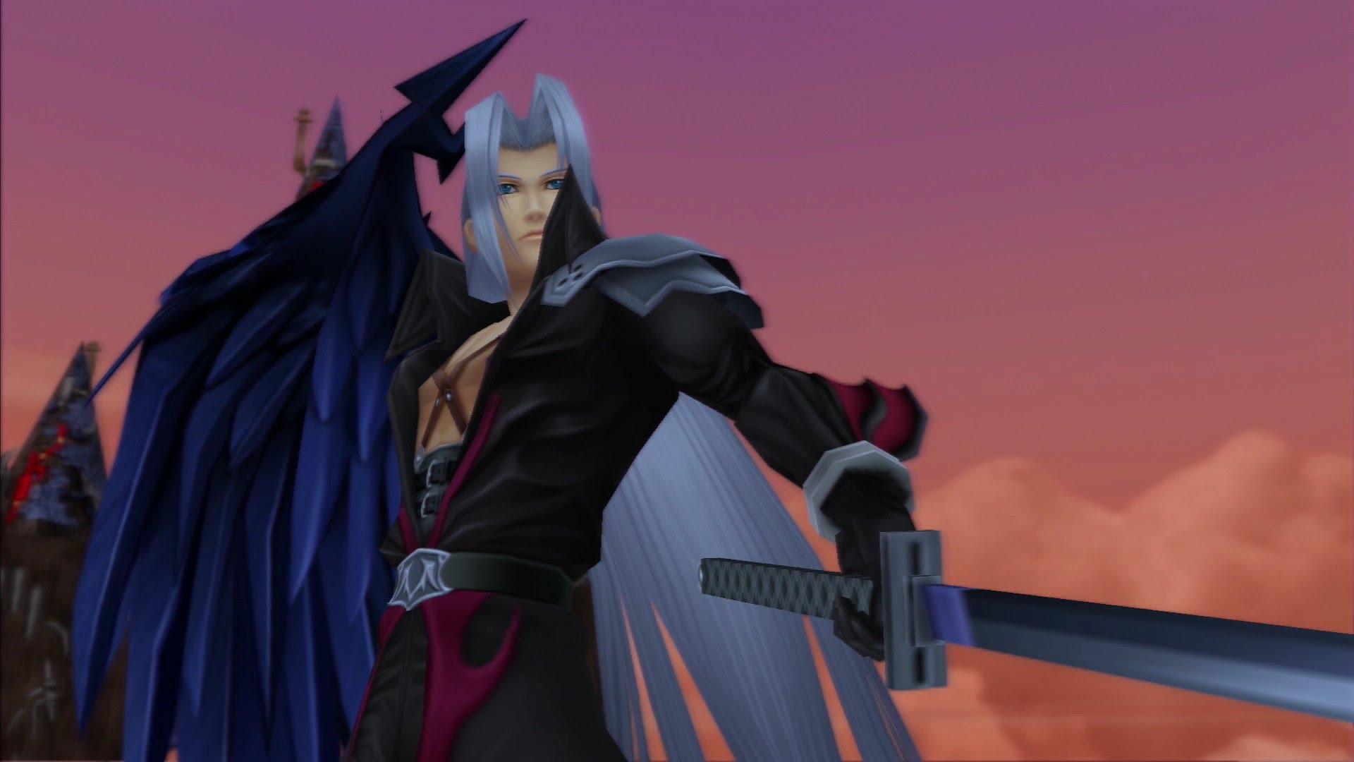 Sephiroth, kingdom hearts ii, hardest video game bosses
