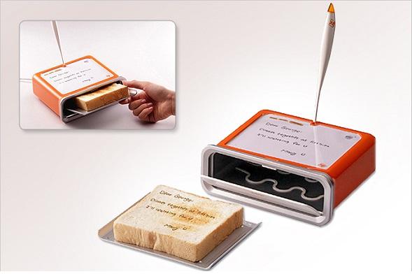 Toast messenger, sasha tseng, gadgets for couples