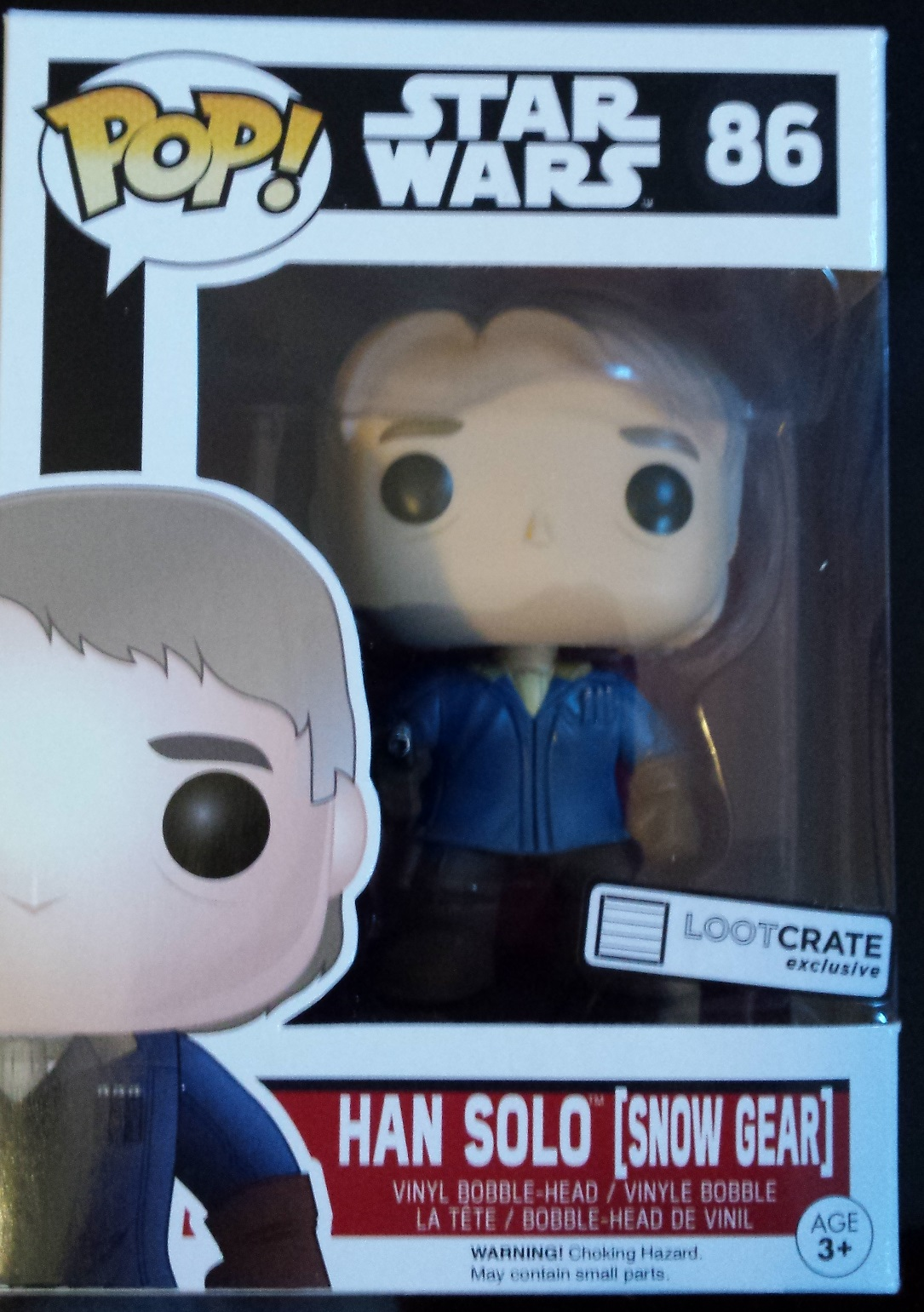Han solo, pop! , star wars, loot crate, loot crate review, december loot crate, discovery loot crate