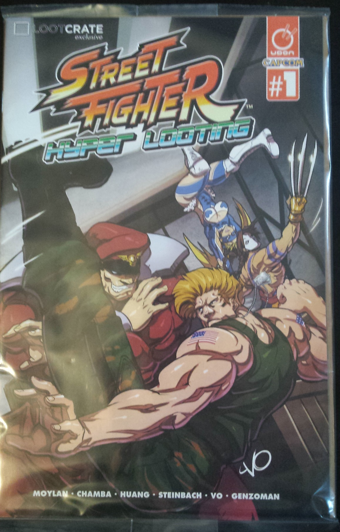 Comic, street fighter, loot crate