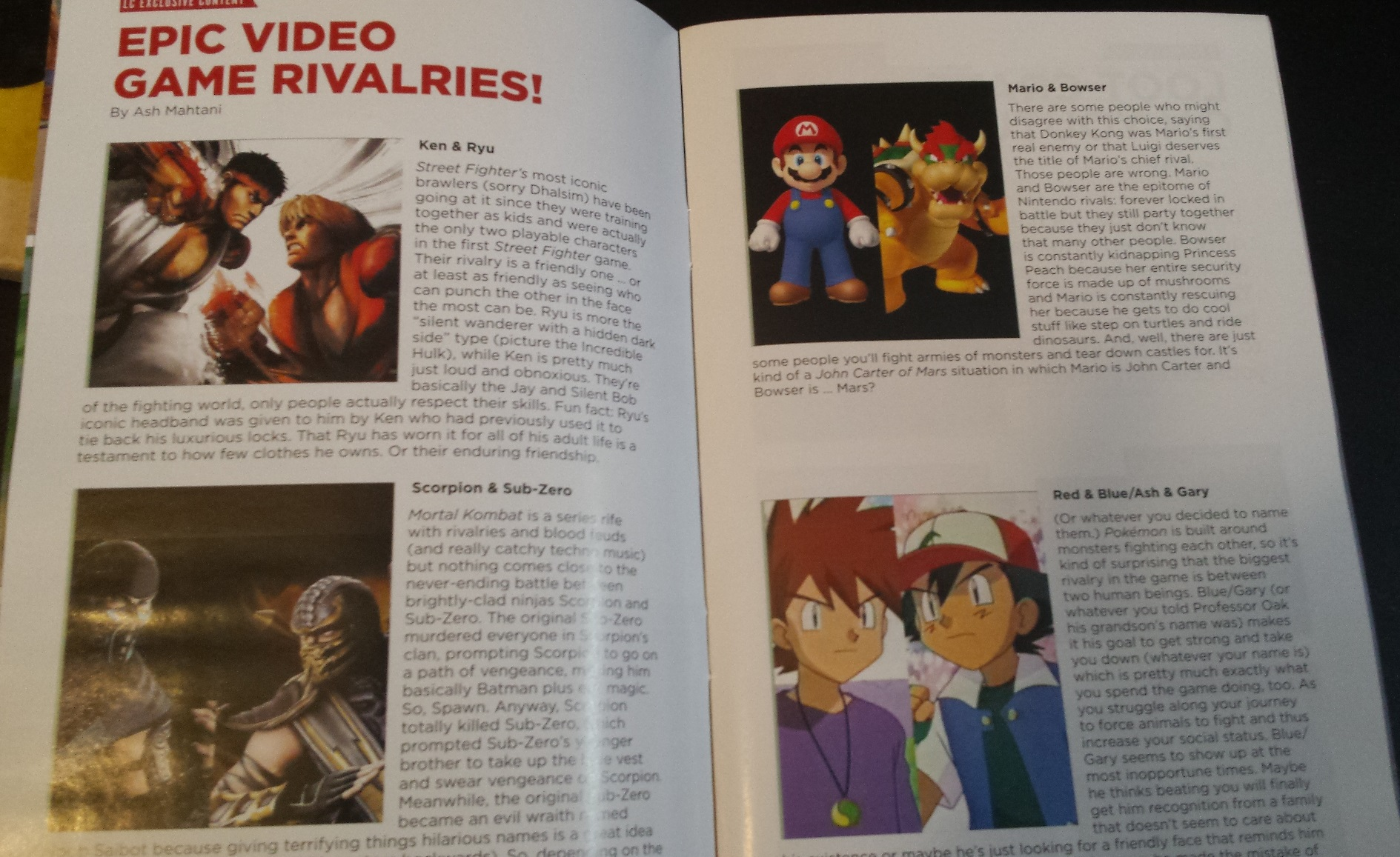 A peek inside loot crate magazine, magazine and pin, loot crate, loot crate review, november loot crate, unboxing