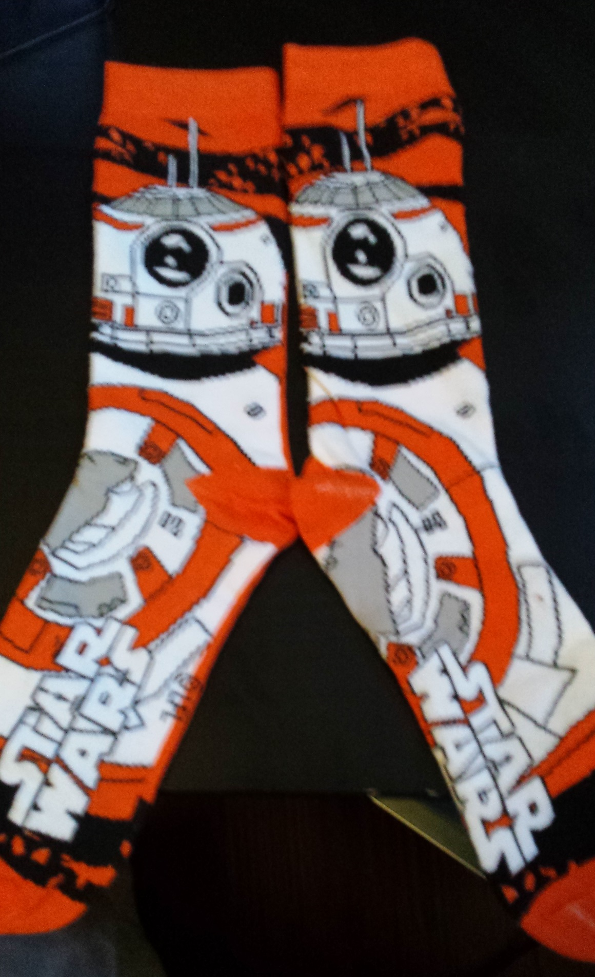 Bb-8 socks, star wars, loot crate, loot crate review, december loot crate, discovery loot crate