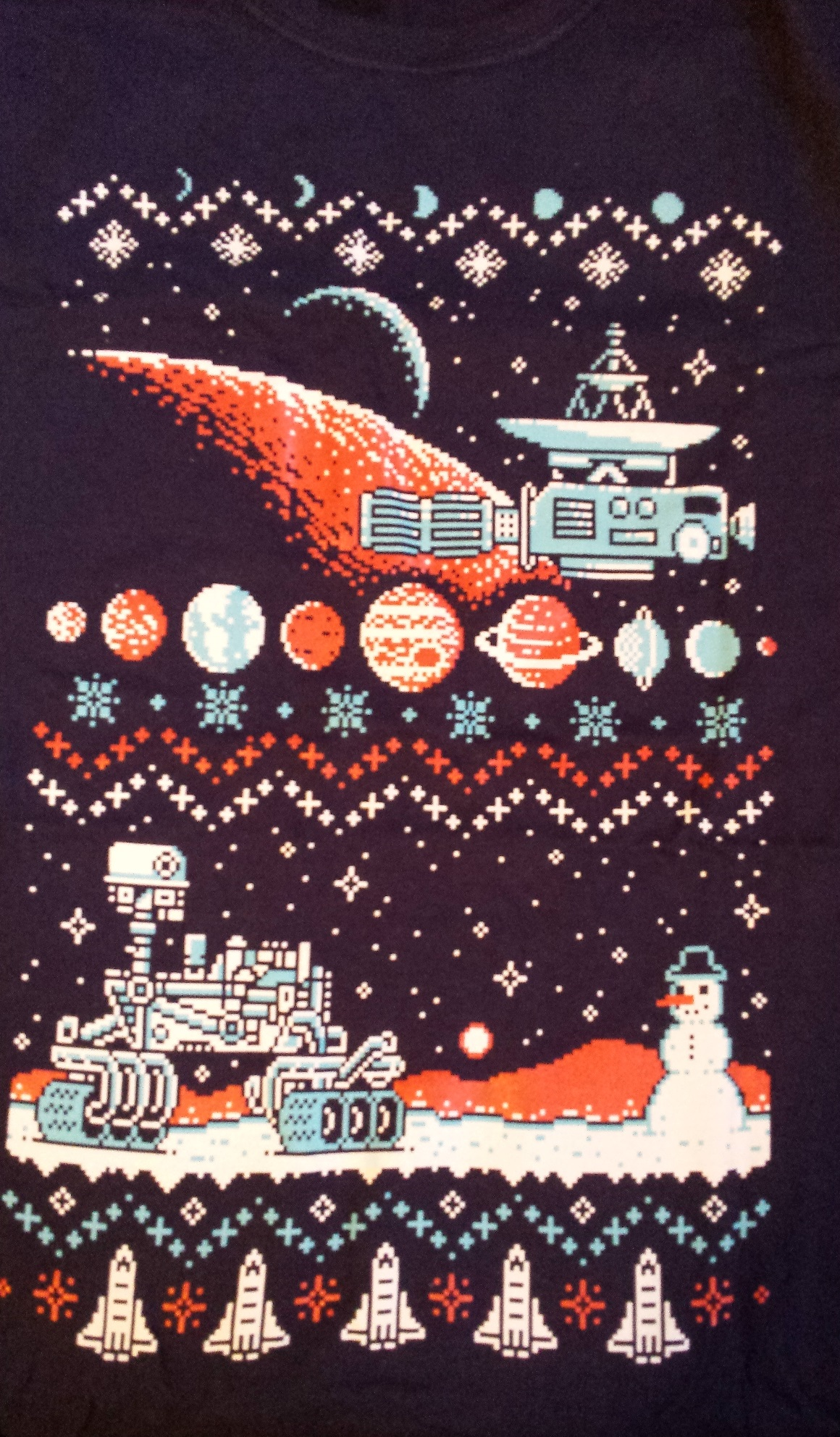 Ugly christmas shirt, loot crate, loot crate review, december loot crate, discovery loot crate