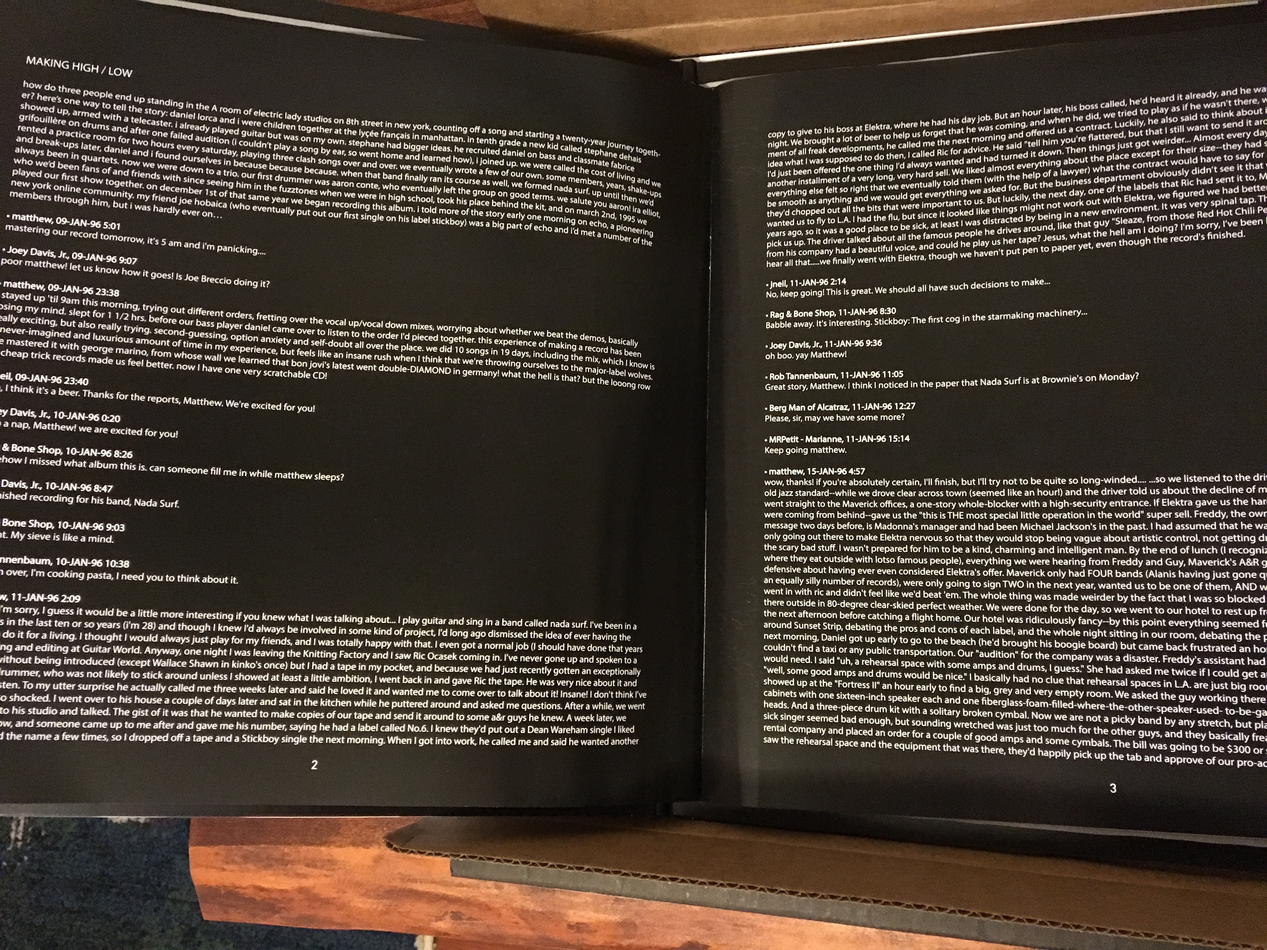 Vinyl Me, Please January Edition: Nada Surf - High/Low • Geek Insider