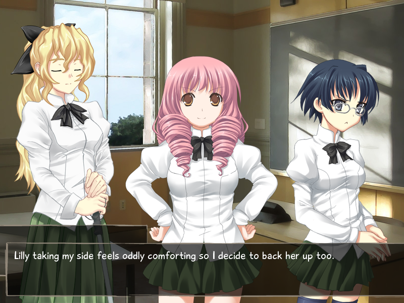 Disabled girl dating sim