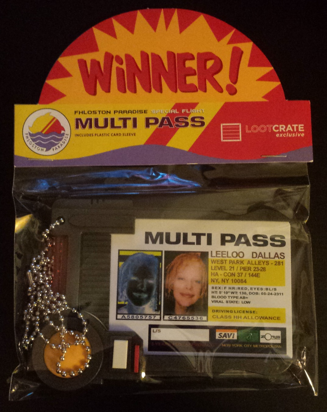 Multipass pack, the fifth element, loot crate january 2016, loot crate unboxing, x files, invasion