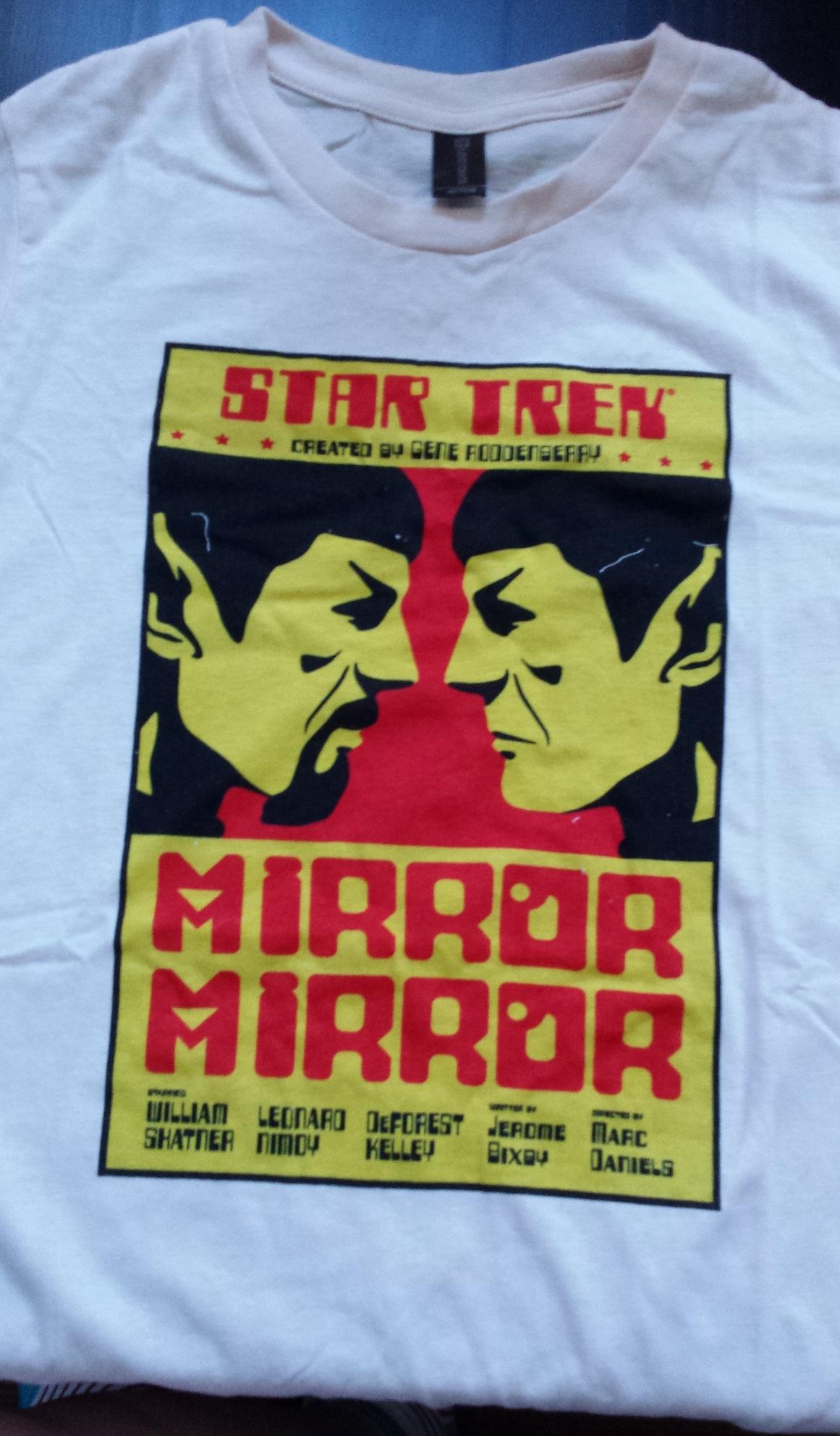 Star trek tshirt, loot crate versus