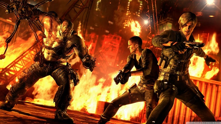 Resident evil 6 hd, gameplay, review