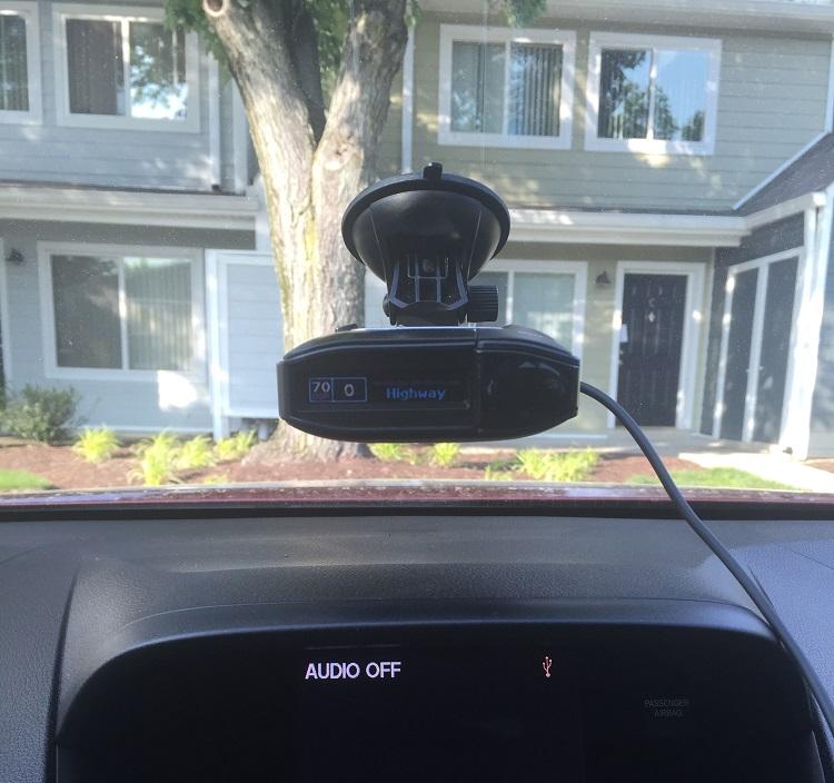 Escort max 360-in-use