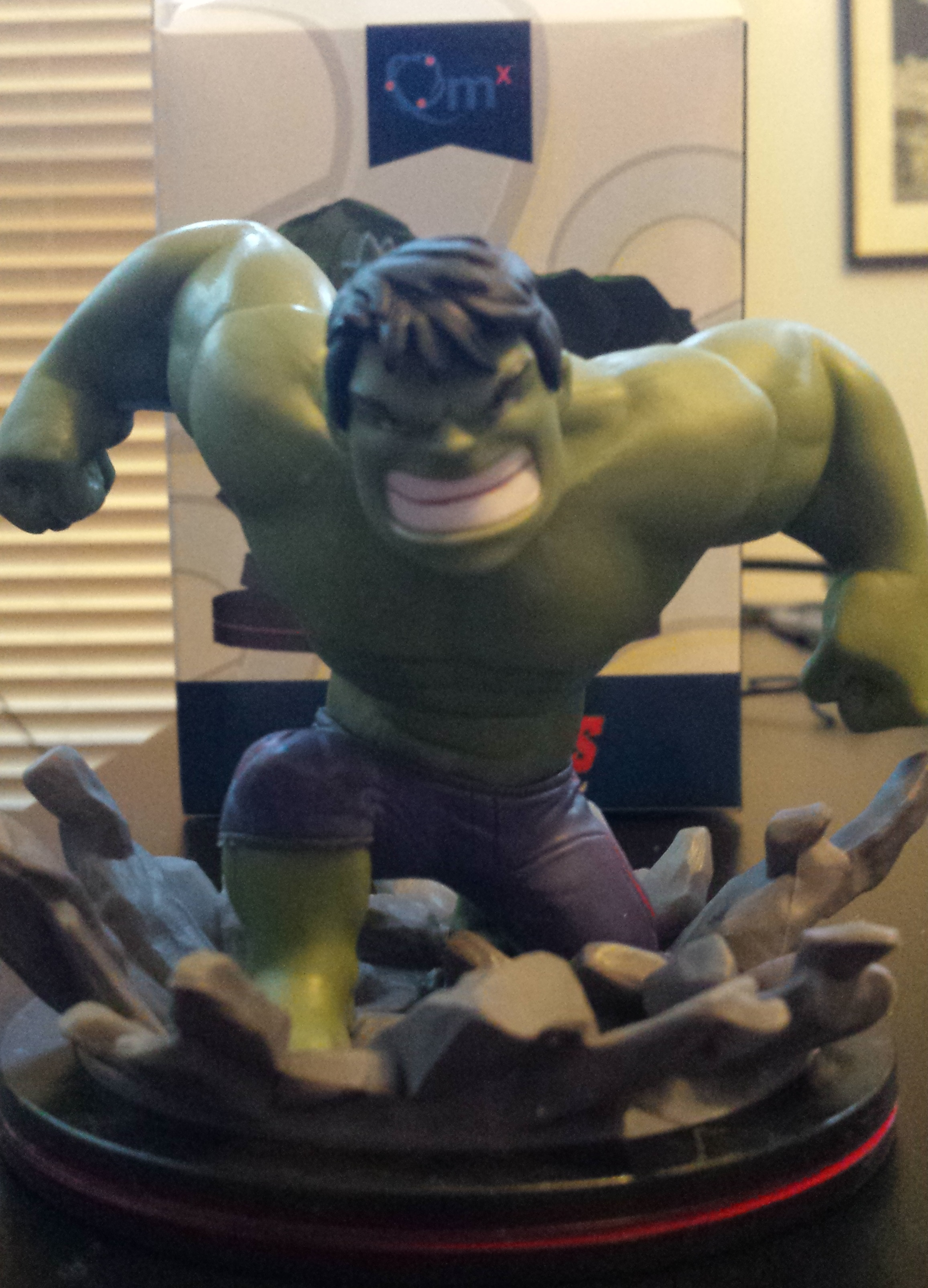 May's loot crate, power, the hulk