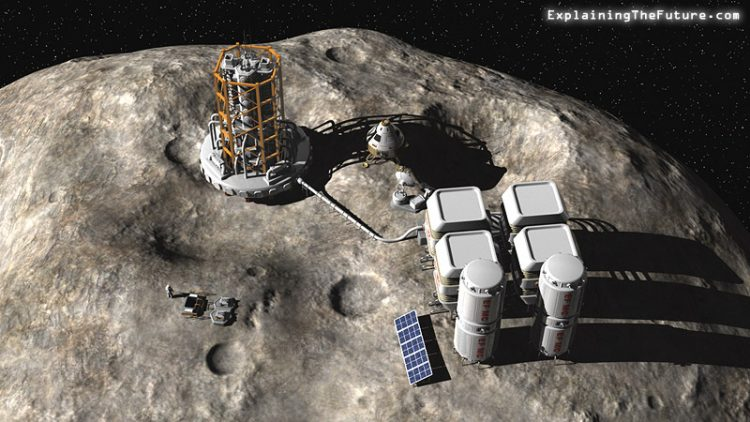 NASA mission to Bennu, asteroid mining