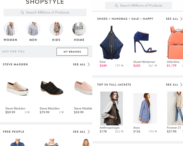 Shop Style- Fashion Apps
