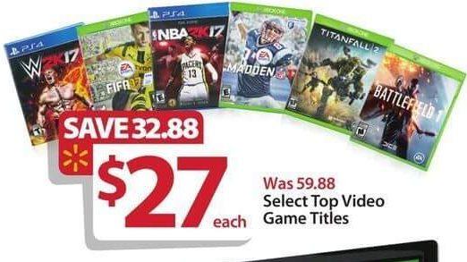 Walmart-games