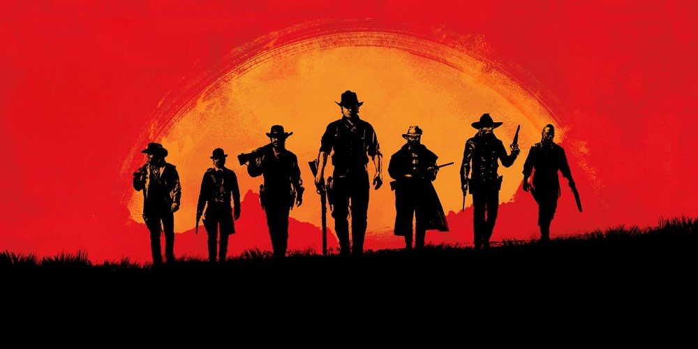 gamers waiting patiently for red dead redemption 2