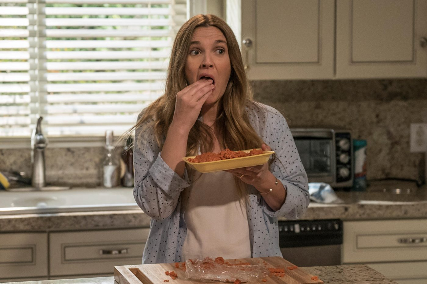 Drew Barrymore and Timothy Olyphant star in Santa Clarita Diet