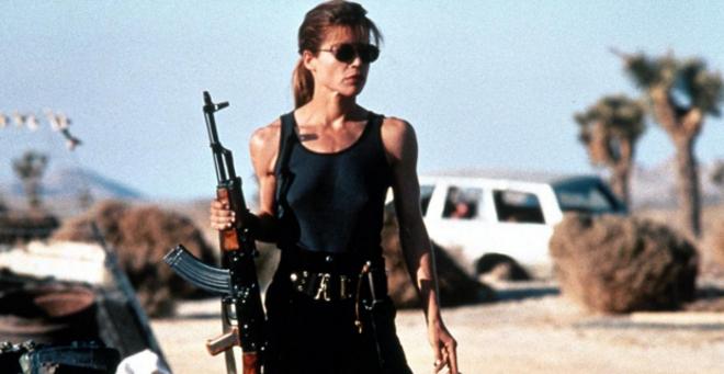 Sarah Connor, women in sci-fi and fantasy