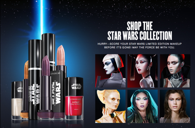 Star Wars Makeup by Covergirl